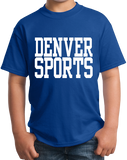 Youth Royal Denver Sports - Generic Funny Sports Fan T-shirt