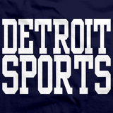 DETROIT SPORTS Navy art preview