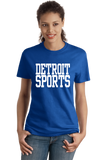 Ladies Royal Detroit Sports - Generic Funny Sports Fan T-shirt