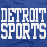 DETROIT SPORTS Royal Blue art preview