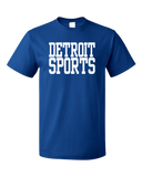 Standard Royal Detroit Sports - Generic Funny Sports Fan T-shirt