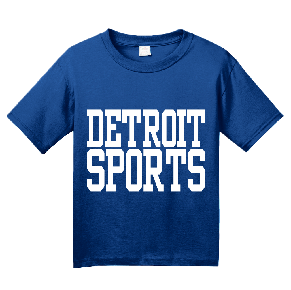 Youth Royal Detroit Sports - Generic Funny Sports Fan T-shirt