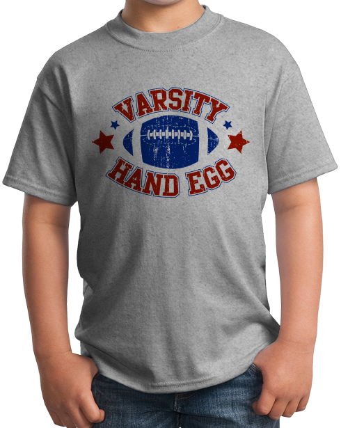 Youth Grey Varsity Hand Egg - Reddit Football Anti-Sports Humor