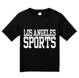 Youth Black Los Angeles Sports - Generic Funny Sports Fan T-shirt
