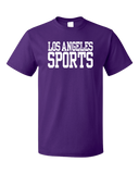 Standard Purple Los Angeles Sports - Generic Funny Sports Fan T-shirt