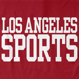 LOS ANGELES SPORTS Red art preview
