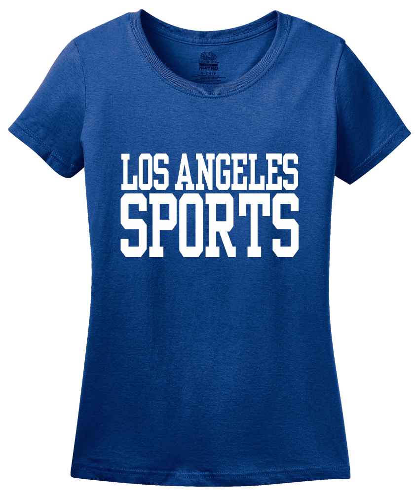 Ladies Royal Los Angeles Sports - Generic Funny Sports Fan T-shirt