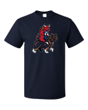 Standard Navy Chicago Sports Fan Mash-Up T-shirt