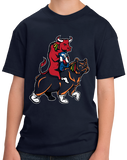 Youth Navy Chicago Sports Fan Mash-Up T-shirt