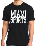 Standard Black Miami Sports - Generic Funny Sports Fan T-shirt