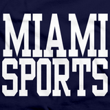 MIAMI SPORTS Navy art preview