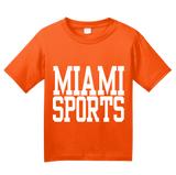 Youth Orange Miami Sports - Generic Funny Sports Fan T-shirt