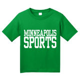 Youth Green Minneapolis Sports - Generic Funny Sports Fan T-shirt