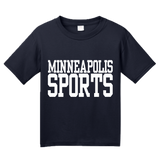 Youth Navy Minneapolis Sports - Generic Funny Sports Fan T-shirt