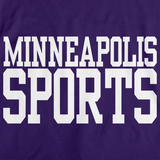 MINNEAPOLIS SPORTS Purple art preview