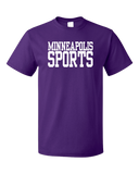 Standard Purple Minneapolis Sports - Generic Funny Sports Fan T-shirt