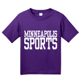 Youth Purple Minneapolis Sports - Generic Funny Sports Fan T-shirt
