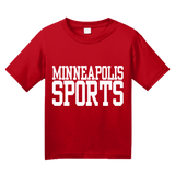 Youth Red Minneapolis Sports - Generic Funny Sports Fan T-shirt