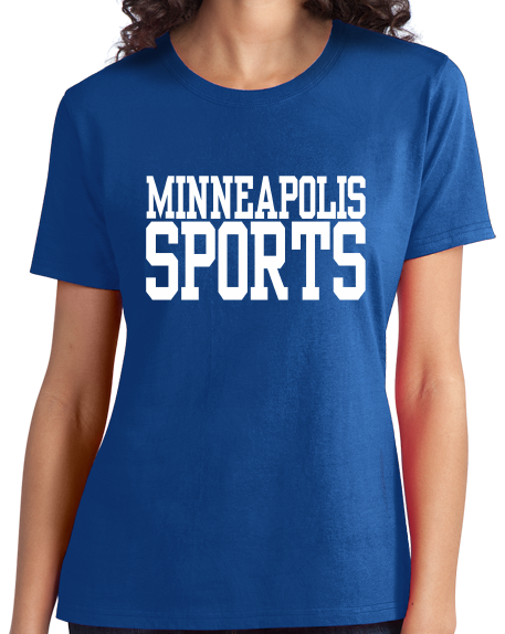 Ladies Royal Minneapolis Sports - Generic Funny Sports Fan T-shirt