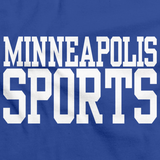 MINNEAPOLIS SPORTS Royal Blue art preview