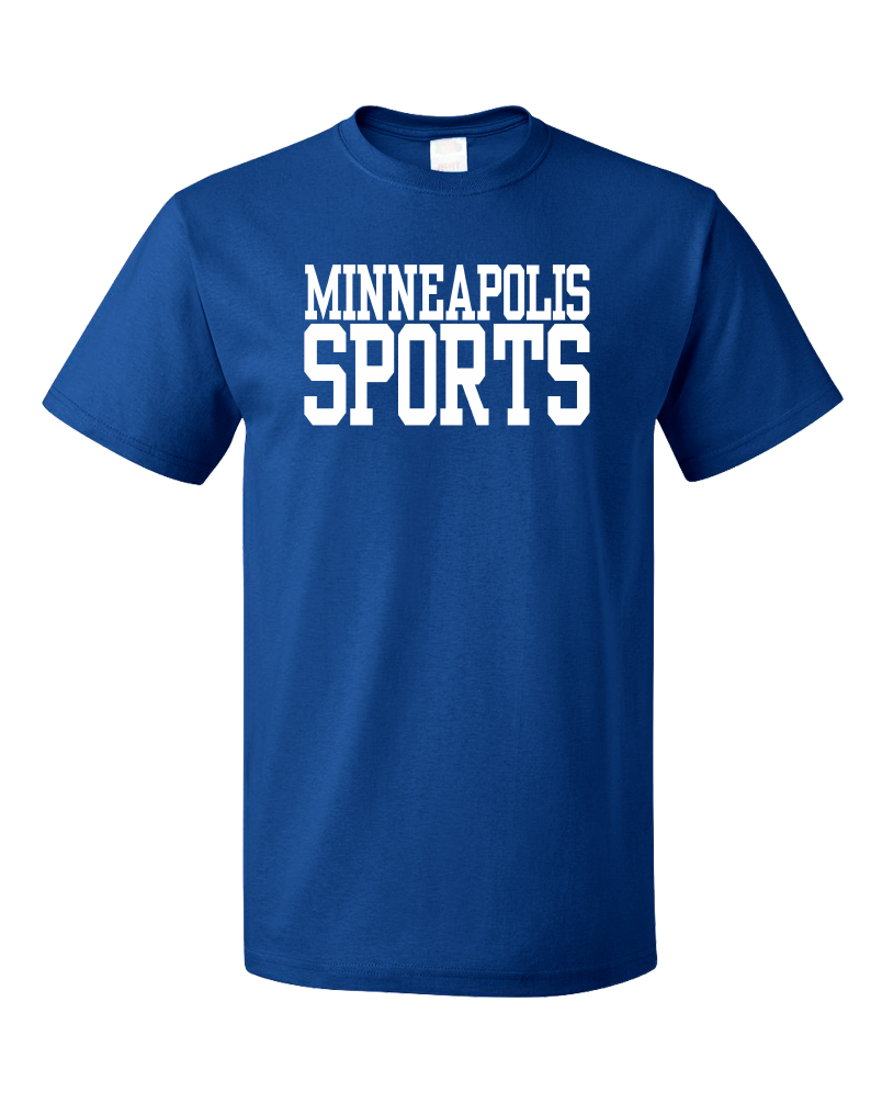 Standard Royal Minneapolis Sports - Generic Funny Sports Fan T-shirt