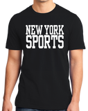 Standard Black New York Sports - Generic Funny Sports Fan T-shirt