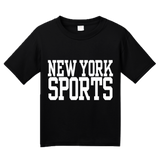 Youth Black New York Sports - Generic Funny Sports Fan T-shirt