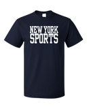 Standard Navy New York Sports - Generic Funny Sports Fan T-shirt