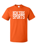 Standard Orange New York Sports - Generic Funny Sports Fan T-shirt