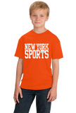 Youth Orange New York Sports - Generic Funny Sports Fan T-shirt