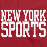 NEW YORK SPORTS Red art preview