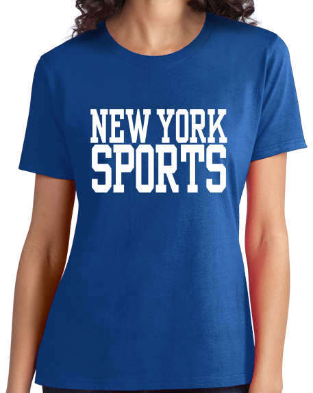 Ladies Royal New York Sports - Generic Funny Sports Fan T-shirt