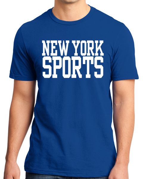 Standard Royal New York Sports - Generic Funny Sports Fan T-shirt