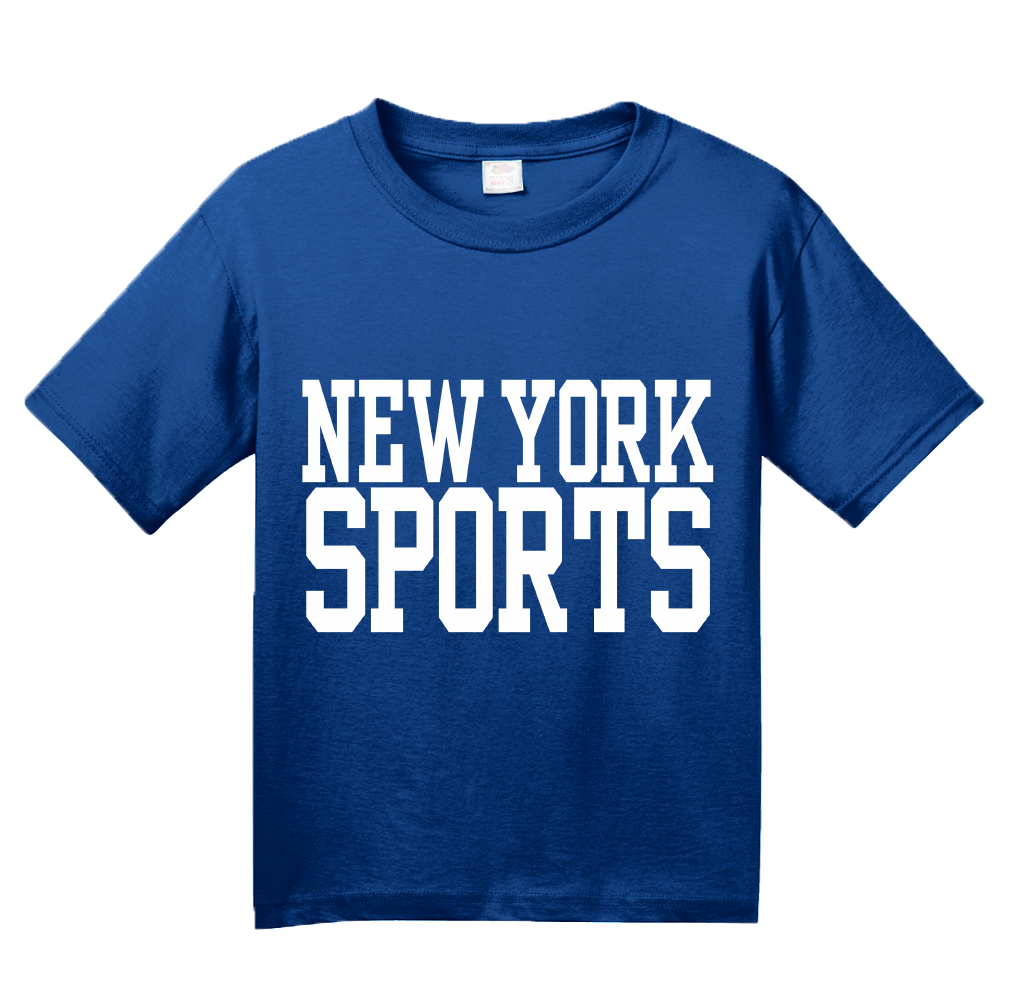Youth Royal New York Sports - Generic Funny Sports Fan T-shirt