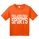 Youth Orange Philadelphia Sports - Generic Funny Sports Fan T-shirt