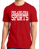 Standard Red Philadelphia Sports - Generic Funny Sports Fan T-shirt