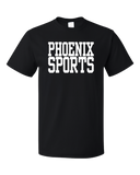 Standard Black Phoenix Sports - Generic Funny Sports Fan T-shirt