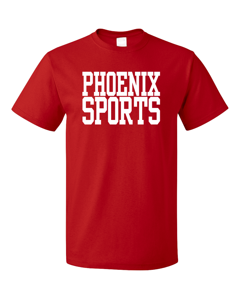 Standard Red Phoenix Sports - Generic Funny Sports Fan T-shirt