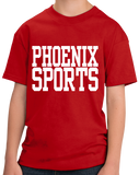 Youth Red Phoenix Sports - Generic Funny Sports Fan T-shirt