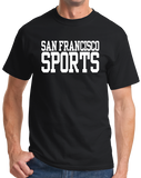 Standard Black San Francisco Sports - Generic Funny Sports Fan T-shirt