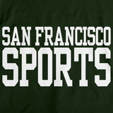 SAN FRANCISCO SPORTS Forest Green art preview
