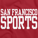 SAN FRANCISCO SPORTS Red art preview