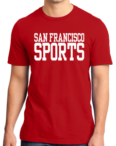 Standard Red San Francisco Sports - Generic Funny Sports Fan T-shirt