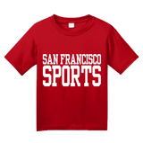 Youth Red San Francisco Sports - Generic Funny Sports Fan T-shirt