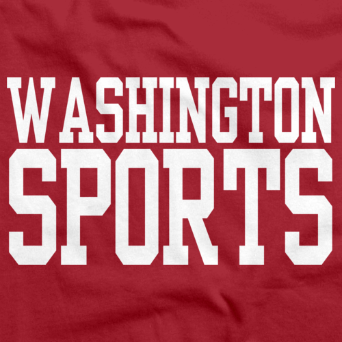WASHINGTON SPORTS Red art preview