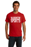 Standard Red Washington D.C. Sports - Funny Generic Sports Fan T-shirt