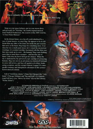 StarKid's Starship on DVD