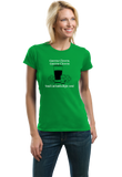 Ladies Green Green Clover Green Clover Send Car Bombs Right Over T-shirt