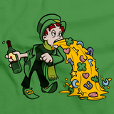 Leprechaun Puking | Lucky St. Patrick's Day Irish Green Art Preview