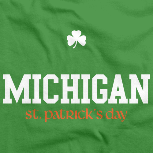 Michigan St. Patrick's Day Green Art Preview
